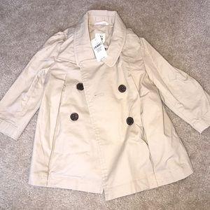 Baby Girls Gap Trench Coat